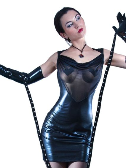Wetlook Kleid - Safia