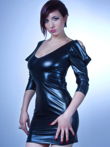 Sale - Wetlook Kleid - Hane Dress – Bild 2