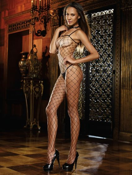 Bodystocking - Geneva Schwarz