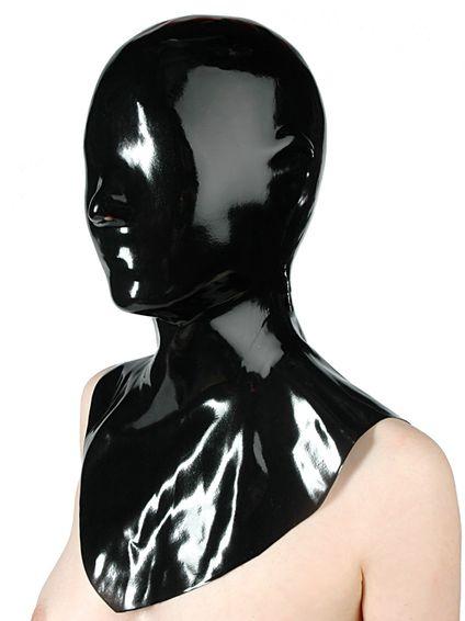 Latex Maske – geschlossen