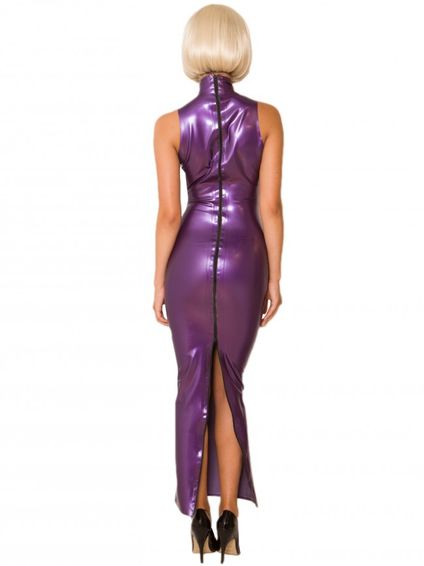 Latex Abendkleid