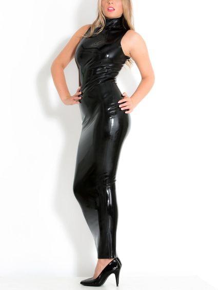 Latex Abendkleid – Bild 1