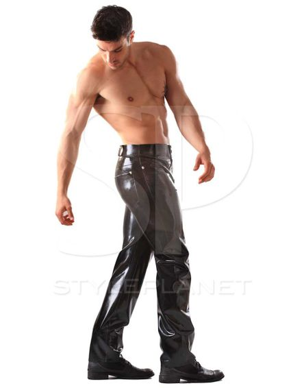 Latex Jeans – Bild 3