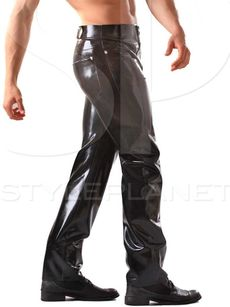 Latex Jeans 001