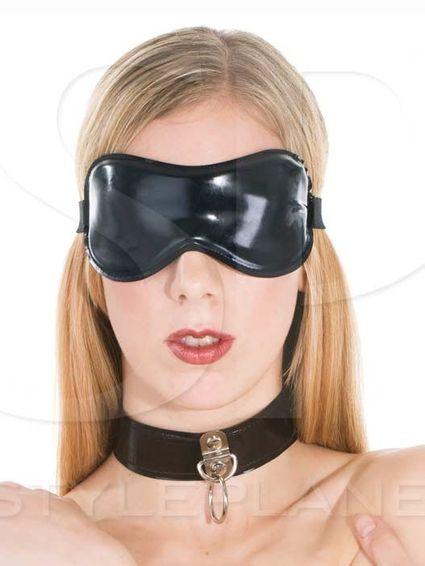 Latexmaske - Augenbinde