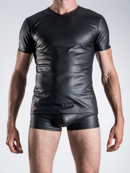 Wetlook Shirt - V Neck - M104 – Bild 3