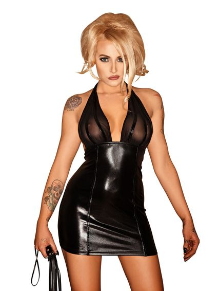 Sale - Wetlook Neckholder Minikleid