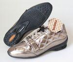 bubba Damen Schuhe Gr. 37 Freizeitschuhe 0200 Seppia Chrome 001