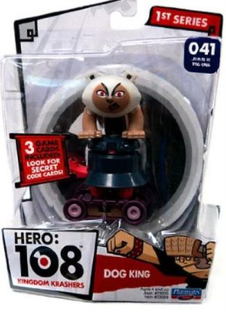 2 Stück HERO 108 KINGDOM KRASHERS Hunde König Figur DOG KING