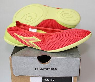 Diadora VANITY Mädchenschuhe Gr. 36,5 RSO/ACID G053 rot/gelb