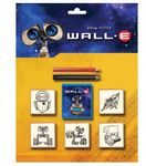 WALL E Stempel Set Blisterkarte Spielset mit Zubehör Disney Pixar 5842 001