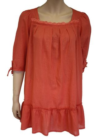 MINNEOLA 3/4-Tunike Long-Shirt Damen Bluse