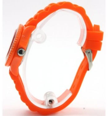 "Hirsch Kinder Armbanduhr Uhr Kids ""True Colour"" Kinder Uhr SCW36 orange – Bild 2"