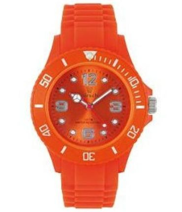 "Hirsch Kinder Armbanduhr Uhr Kids ""True Colour"" Kinder Uhr SCW36 orange – Bild 1"