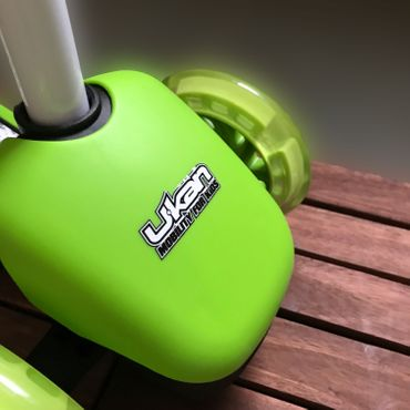 Ukan Mini Kickboard LED Roller Scooter Kinder ab 3+ – Bild 2