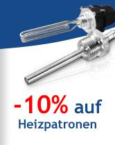 -10% auf Heizpatronen