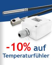 -10% auf Temperaturfühler