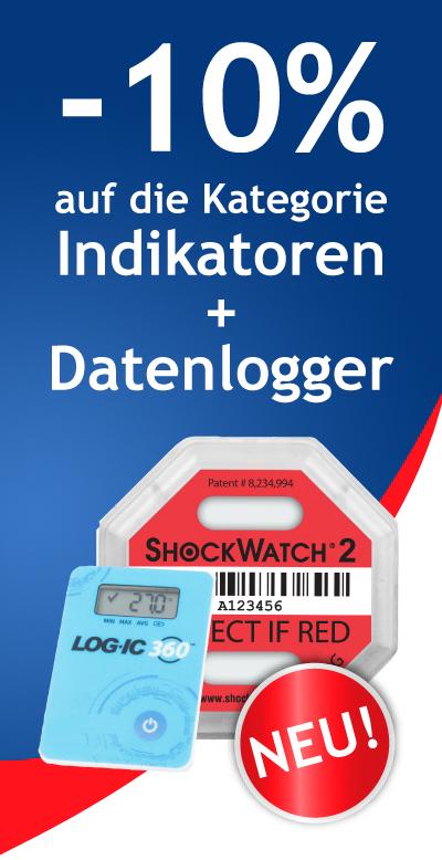 -10% auf Indikatoren und Datenlogger