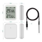 Digitales Funk Thermo-Hygrometer mit Außensensor und externer Sonde 002
