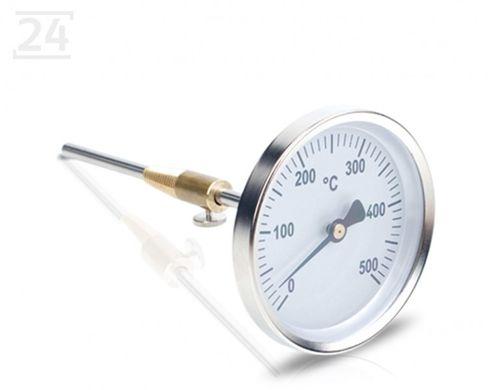 Bimetall-Rauchgasthermometer bis 500°C