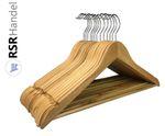 Variante Kleiderbügel Holz Natur 38 cm 001
