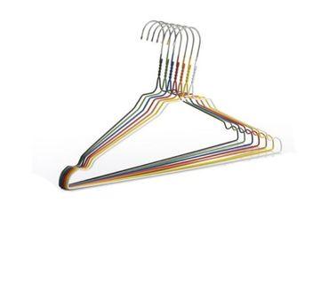 Metall Kleiderbügel Gelb 2,3 cm