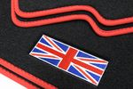 Union Jack floor mats fits for Mini Countryman R60 fits for 2010-2017 L.H.D. only