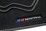 Sportline floor mats fits for BMW X3 F25 2010-10/2017 L.H.D. only Bild 2