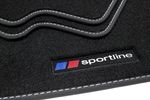Sportline Fußmatten für BMW 5er E60 E61 Bj. 2003-2010 Bild 2
