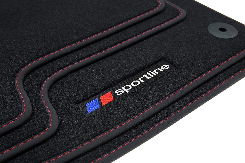 2011 Sportline Fußmatten für BMW 1er F20// F21 Bj