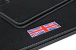 Exclusive Union Jack floor mats fits for Mini Countryman R60 2010- 2017 L.H.D. only Bild 2