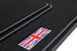 Exclusive Union Jack floor mats fits for Mini Countryman R60 2010- 2017 L.H.D. only Bild 4