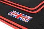 Union Jack floor mats fits for Mini III 3-door F56 L.H.D. only Bild 4
