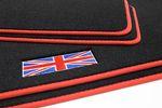 Union Jack floor mats fits for Mini III 3-door F56 L.H.D. only Bild 5