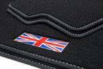 Exclusive Union Jack floor mats fits for Mini III 3-door F56 2014- L.H.D. only