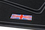 Exclusive Union Jack floor mats fits for Mini III 3-door F56 2014- L.H.D. only Bild 3