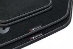 Exclusive-line Design Fußmatten für VW Passat B6  B7 Bj. 2005-2014 Bild 3