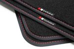 Exclusive line design floor mats fits for Audi A4 8H Cabrio 2002-2009 L.H.D. only Bild 8