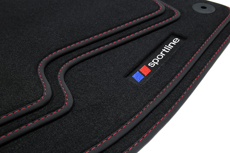 Premium Fußmatten für BMW 6er Coupé E63 Bj 2003-2010