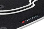 Fußmatten Sportline für Audi A4 B8 8K Bj. 2008-2015 Bild 8