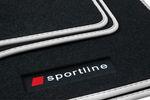 Fußmatten Sportline für BMW 3er E90 E91 Bj. 2005-2012 Bild 6