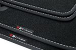Exclusive line design floor mats fits for Audi A3 8V Sportback 2013- L.H.D. only