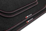 Exclusive line design floor mats fits for Audi A3 8V Sportback 2013- L.H.D. only Bild 7