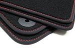 Exclusive floor mats fits for Skoda Superb III 3 2015- L.H.D. only