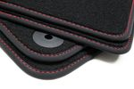 Exclusive floor mats fits for Seat Mii 2011- L.H.D. only