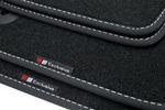 Exclusive-line Design Fußmatten für Fiat 500 Bj. 2007-