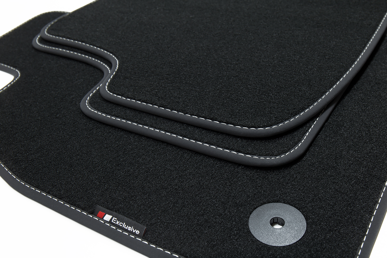 2013 Premium Fußmatten für Kia Carens 4 IV ab Bj