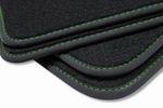 Premium floor mats for Skoda Octavia 2 from 2004-2013  L.H.D. only