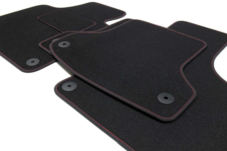 2016 Premium Fußmatten für Audi A4 B9 8W Avant Kombi Limo S-Line Bj