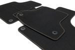 Premium floor mats fits for Seat Leon 2 II 1P from 2005-2012 L.H.D. only Bild 6